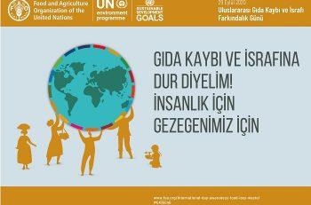Pandemi Sürecinde Uluslararası Gıda Kaybı ve İsrafı Farkındalık Günü…