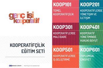 """Genç İşi Kooperatif'in Kooperatifçilik Eğitim Seti"""" Yayınlandı!"""