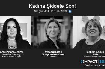 """IMPACT2030 Türkiye Etki Konseyi Paneli: """"Kadına Şiddete Son!"""""""