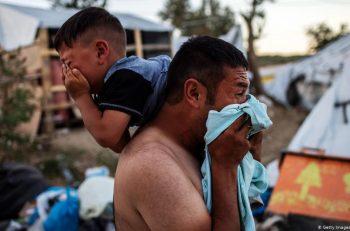 Yunanistan'da Göçmen Kampı Moria Yanıyor!