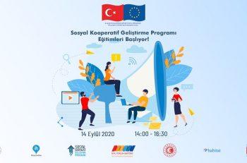 Sosyal Kooperatif Geliştirme Programı Eğitimleri Başlıyor!