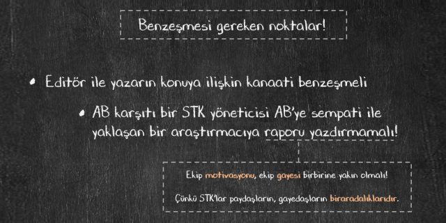 STK rapor yazımı