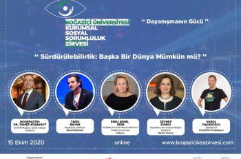 Boğaziçi Üniversitesi Kurumsal Sosyal Sorumluluk Zirvesi