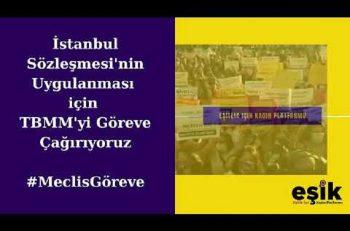 EŞİK'ten Dilekçe ve Açık Mektup Kampanyası…
