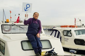 """""""Türkiye'de Her 30 Balıkçıdan En Az Biri Kadın"""""""