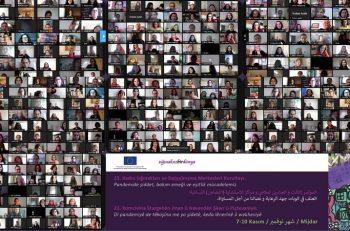 Engelleme ve Kısıtlamalara Rağmen Feminist Mücadele ve Kadın Dayanışması Büyüyor!