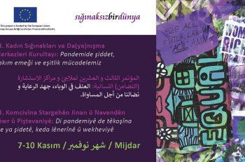23. Kadın Sığınakları ve Da(ya)nışma Merkezleri Kurultayı Çevrimiçi Yapılıyor!