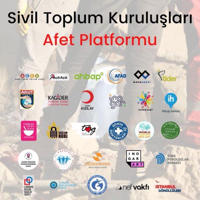 STK Afet Platformu