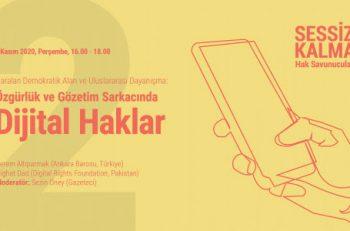 """""""Özgürlük ve Gözetim Sarkacında Dijital Haklar"""""""