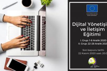 Dijital Yönetişim ve İletişim Eğitimi Başvuruları Başladı