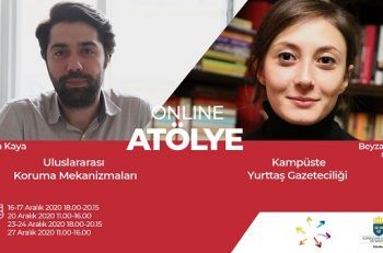 Kampüste Yurttaş Gazeteciliği ve Uluslararası Koruma Mekanizmaları Atölyesi