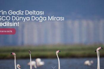 Gediz Deltası UNESCO Doğa Mirası İlan Edilsin