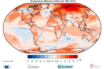 2020 Yılında Kırılan Sıcaklık Rekoru, Aşırı Hava Olayları ve Süregelen Endişe Verici Eğilim