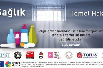 Hapishanelerde Ücretsiz Temizlik Kiti Kampanyası Desteğinizi Bekliyor