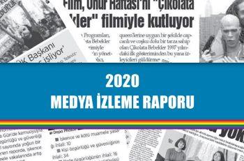 """Kaos GL 2020 Medya İzleme Raporu: """"LGBTİ+ Düşmanlığı Tesadüf Değil, Organize!"""""""