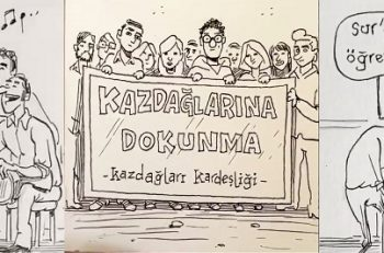 Türkiye'nin Umut Veren Sivil Hikayeleri Karikatürist Emrah Ablak'ın Karikafilmlerinde