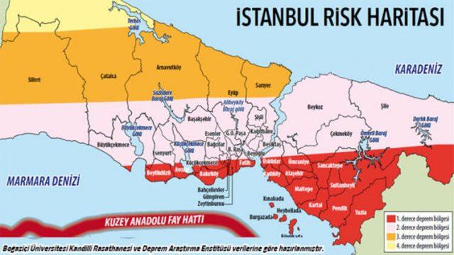 istanMeclis Deprem Araştırma Komisyonu Müzeyyen Şevkin-Sivil Sayfalar bul-deprem-risk-haritası