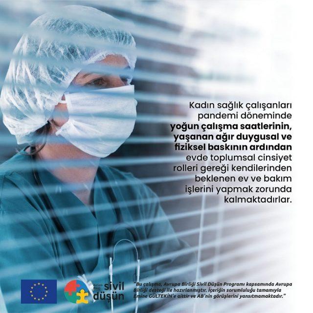 pandemide kadın sağlık çalışanları