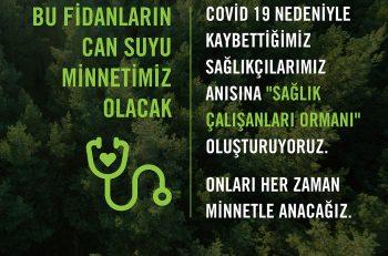 TEMA Vakfı'ndan 'Sağlık Çalışanları Ormanı'