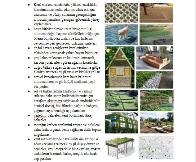 yeşil altyapı uygulamaları
