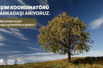 Doğa Derneği İletişim Koordinatörü Arıyor