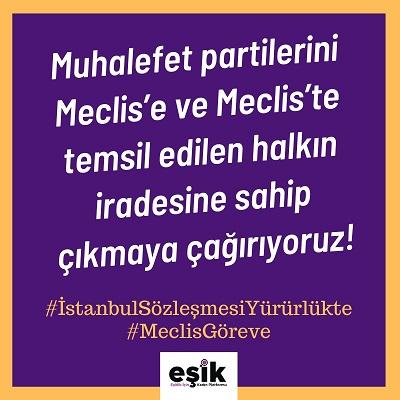Kadın Örgütleri İstanbul Sözleşmesi'nden Çekilme Kararını Tanımıyor