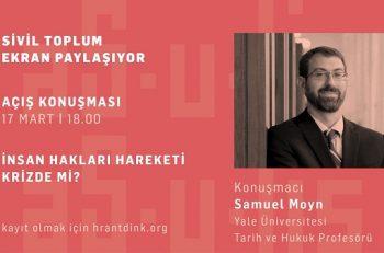 """Hrant Dink Vakfı'nın """"Sivil Toplum Ekran Paylaşıyor"""" Panel Serisine Davetlisiniz"""