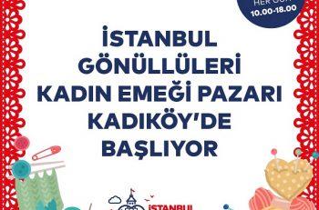 Kadın Emeği Pazarı ile Kadıköy Renkleniyor