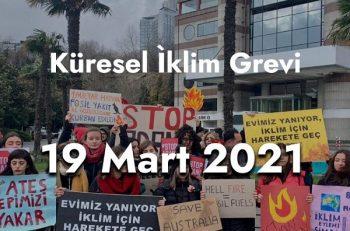 İklim Aktivistleri #BoşVaatlerİstemiyoruz Sloganıyla Harekete Geçiyor