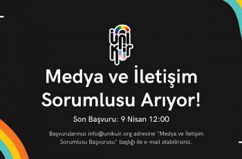 Ünikuir Derneği Medya ve İletişim Sorumlusu ile Avukat Arıyor