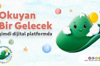 """AÇEV """"Okuyan Bir Gelecek"""" Projesini Dijital Platforma Taşıdı!"""