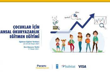 Habitat Derneği Çocuklar için Finansal Okuryazarlık Eğitmen Eğitimi Düzenliyor