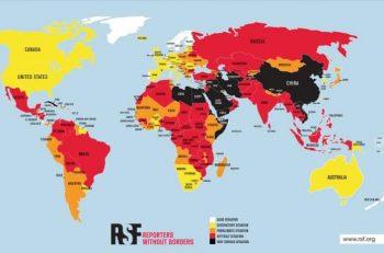 2021 Dünya Basın Özgürlüğü Endeksi'nde Türkiye Sondan 27'inci Sırada!
