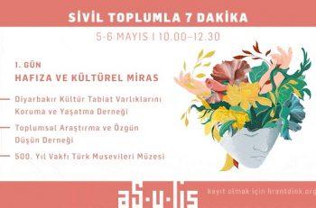 """Hrant Dink Vakfı """"Sivil Toplumla 7 Dakika"""" Etkinliğine Davet Ediyor"""
