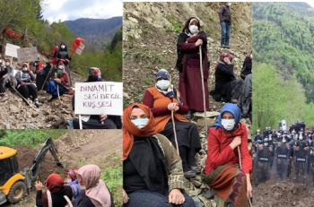 İkizdere Vadisi'nde Köylüler Taş Ocağı İnşaatına Direniyor!