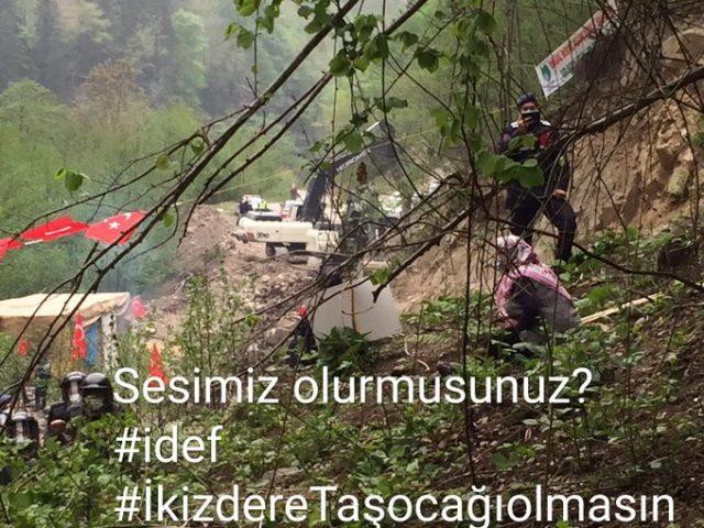Doğal SİT Alanı İkizdere Vadisi'nde Köylüler Taş Ocağı İnşaatına Direniyor!