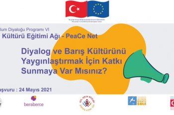 beraberce Derneği Barış Kültürü Eğitimi Ağı Başvurularınızı Bekliyor
