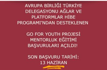 Go For Youth Projesi Mentörlük Eğitimi Düzenliyor