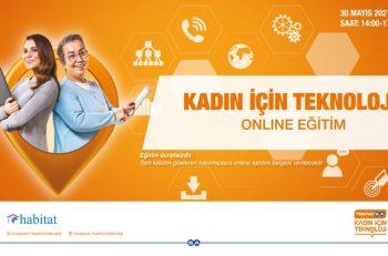 Kadın İçin Teknoloji Projesi Online Eğitimleri Sürüyor