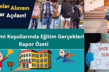 """Uzmanlar Uyarıyor: """"Türkiye'de Okullar Bir An Önce Açılmalı!"""""""