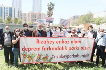 """STK'lardan İzmir'de """"Deprem Farkındalık Parkı"""" Çağrısı…"""