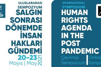 """TİHV """"Salgın Sonrası Dönemde İnsan Hakları Gündemi"""" Sempozyumu Düzenliyor"""