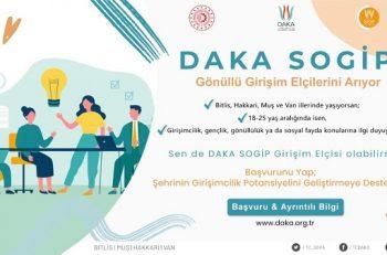 Bitlis, Hakkâri, Muş ve Van'dan Girişim Elçileri Aranıyor!