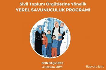 Mülteci Hakları İçin Yerel Savunuculuk Okulu Katılımcılarını Arıyor