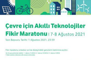 Çevre için Akıllı Teknolojiler Fikir Maratonu'na Davetlisiniz