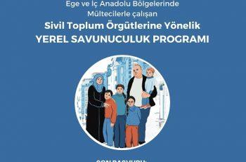 Mülteci Hakları İçin Yerel Savunuculuk Programı Başlıyor