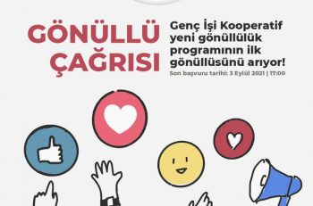 Genç İşi Kooperatif Gönüllülerini Arıyor!