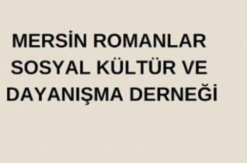Mersin Romanlar Sosyal Kültür ve Dayanışma Derneği Stajyer Arıyor