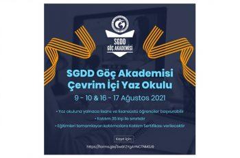 SGDD-ASAM Göç Akademisi Çevrim İçi Yaz Okulu