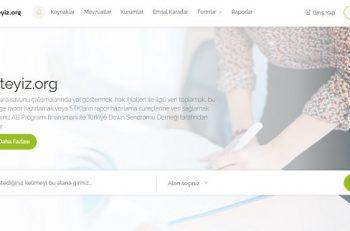 Türkiye Down Sendromu Derneği'nin takipteyiz.org Sitesi Yayında